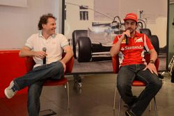 Press conference: Jacques Villeneuve and Fernando Alonso