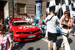 WTCC exhibition, Kossuth Square, Atmosphere