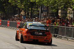 WTCC exhibitie, Kossuth Square, Gabor Weber, BMW 320 TC, Zengo Motorsport