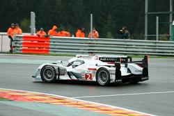 #2 Audi Sport Team Joest Audi R18 e-tron quattro: Allan McNish, Tom Kristensen, Rinaldo Capello