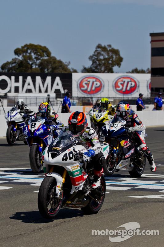 SportBike Race #2 herstart