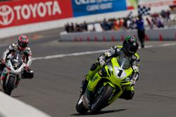 James Rispoli wint SuperSport Race #2 met 2de plaats Dustin Dominguez