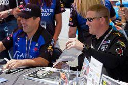 Bruce Bleecker en Ricky Brown