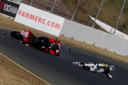 David Gaviria crash during qualifying