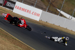David Gaviria crash during qualifying
