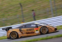 #86 JLOC Lamborghini Gallardo RG-3: Junichiro Yamashita, Hideshi Matsuda