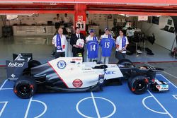 Peter Sauber F1 Team, Sauber F1 Team presidente; Monisha Kaltenborn, directora de Sauber F1 Team; Ro