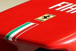 Ferrari logo on the Ferrari nosecone