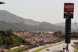 Жан-Эрик Вернь. ГП Испании, Вторая пятничная тренировка.