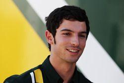 Alexander Rossi, pilote d'essais Caterham F1