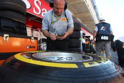 Pirelli Tyres and OZ Wheels