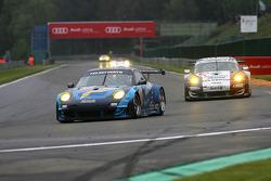 #88 Team Felbermayr Proton Porsche 997 GT3 RSR: Christian Ried, Gianluca Roda, Paolo Ruberti