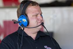 Kurt Busch's crew chief, Nick Harrison