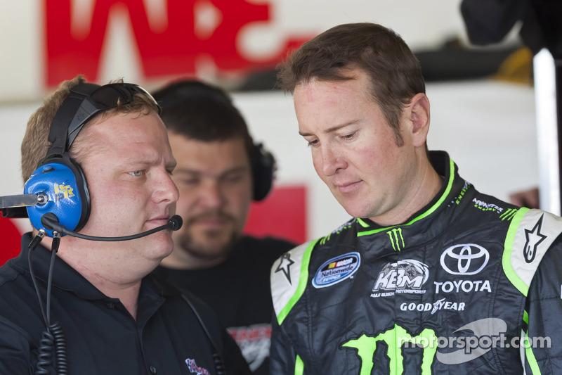 Kurt Busch, Phoenix Racing Chevrolet en crew chief Nick Harrison