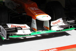Sahara Force India F1 VJM05 front wing