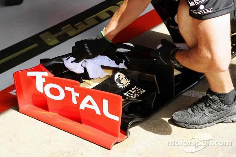 Lotus F1 neus