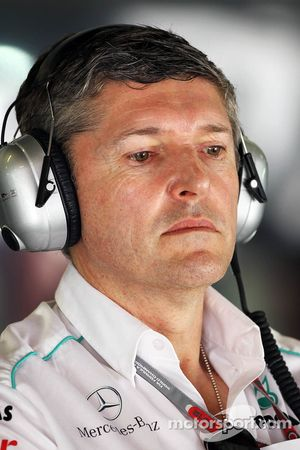 Nick Fry, Mercedes AMG F1 Chief Executive Officer