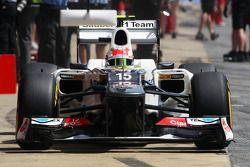 Sergio Pérez, Sauber en pits
