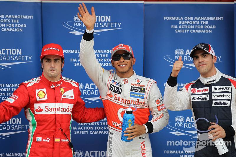 Квалификацию в Гран При Испании в тот год выиграл Льюис Хэмилтон