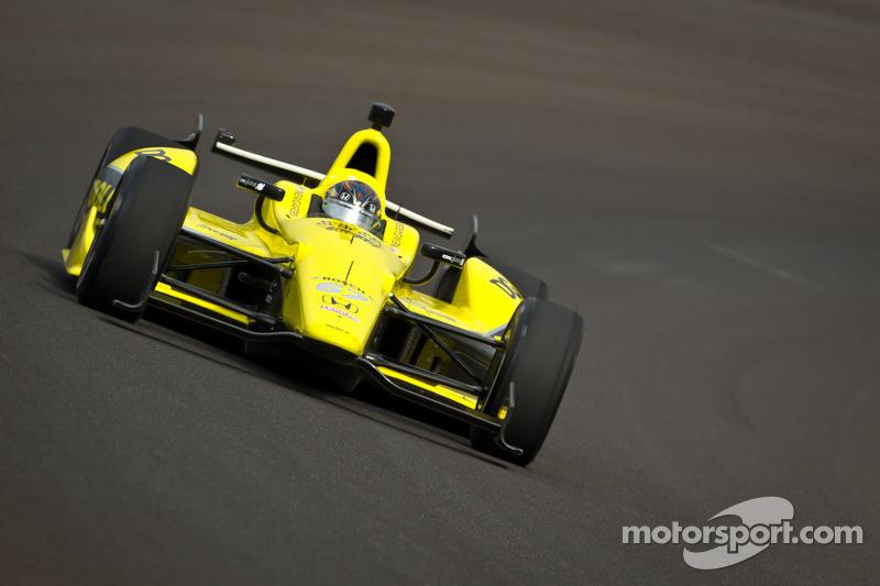 2012: «Новичок года» в Indy 500