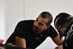 Jose Collado Mendez works on the #31 MP1A Lamborghini Gallardo R GT3, Sergio Lagana, Champ 1 Motorsports