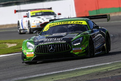 #88 Team ABBA with Rollcentre Racing Mercedes AMG GT3: Richard Neary, Martin Short, Adam Christodoulou