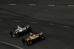 Gabby Chaves, Harding Racing Chevrolet, Ryan Hunter-Reay, Andretti Autosport Honda