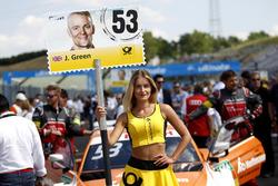 Chica de la parrilla de Jamie Green, Audi Sport Team Rosberg, Audi RS 5 DTM