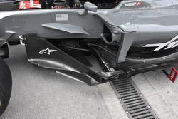 Haas F1 Team VF-17: Windabweiser
