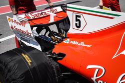 Aileron arrière de la Ferrari SF70H