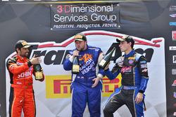 #87 TA2 Chevrolet Camaro, Rafael Matos, HP Tech Motorsports, #34 TA2 Ford Mustang, Tony Buffomante, Mike Cope Racing, #74 TA2 Chevrolet Camaro, Gar Robinson, Robinson Racing