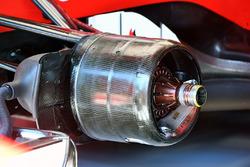 Ferrari SF70H, első kerékagy