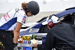 Elizabeth Prestella, Trent Owens, Chris Buescher, JTG Daugherty Racing Chevrolet