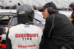 Brad Keselowski, Team Penske Ford and Greg Erwin