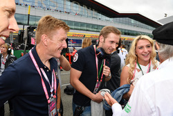 Jackie Stewart, Laura Kenny, Olympic Cyclist and her husband Jason Kenny, Olympic Cyclist