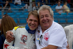 Maciej Dreszer, DF1 Racing und Norbert Walchhofer, DF1 Racing Teamchef