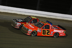Bobby Pierce, GOTTA RACE / 866-GET-A-PRO METAL ROOFING Chevrolet Silverado and Max Johnston, Young Motorsports Chevrolet