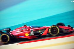 Konsep fantasi mobil F1 2025