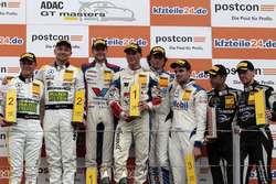 Trophypodium: 1. #77 Callaway Competition, Corvette C7 GT3-R: Jules Gounon, Renger van der Zande, 2. #48 Mercedes-AMG Team HTP Motorsport, Mercedes-AMG GT3: Indy Dontje, Marvin Kirchhöfer, 3. #21 Mercedes-AMG Team Zakspeed, Mercedes-AMG GT3: Luca Stolz, Luca Ludwig, #63 GRT Grasser Racing Team, Lamborghini Huracán GT3: Rolf Ineichen, Christian Engelhart