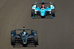 Jean Alesi, FP Journe Fan Force United Lotus, Simon Pagenaud, Schmidt/Hamilton Motorsports Honda