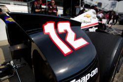 Rear wing detail, Will Power, Verizon Team Penske Chevrolet