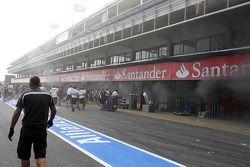 ГП Испании, Воскресенье, после гонки.