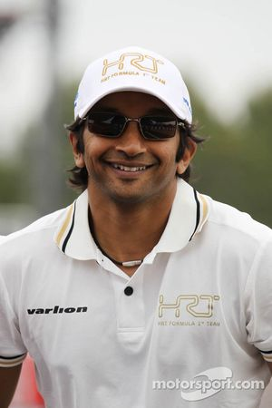 Narain Karthikeyan, Hispania Racing F1 Team