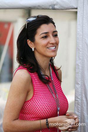 Fabiana Flosi, fiance of Bernie Ecclestone, CEO Formula One Group