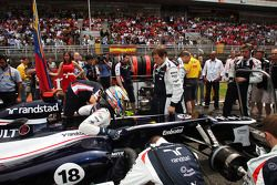 Pole: Pastor Maldonado, Williams gridde
