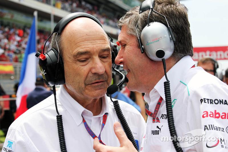 А командой Sauber руководил Петер Заубер