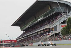 Paul di Resta, Sahara Force India aventaja a su compañero de equipo Nico Hulkenberg, Sahara Force In