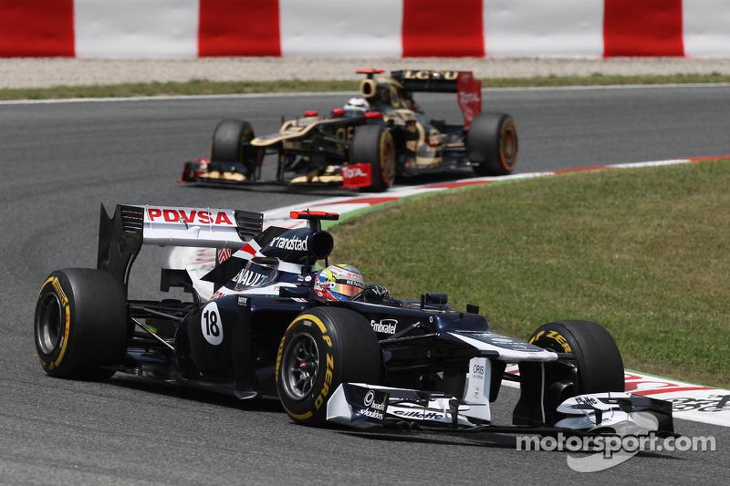 Пастор Мальдонадо, Williams – Гран При Испании 2012 года