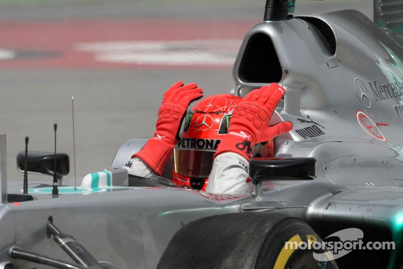 Причем Шумахер был очень недоволен