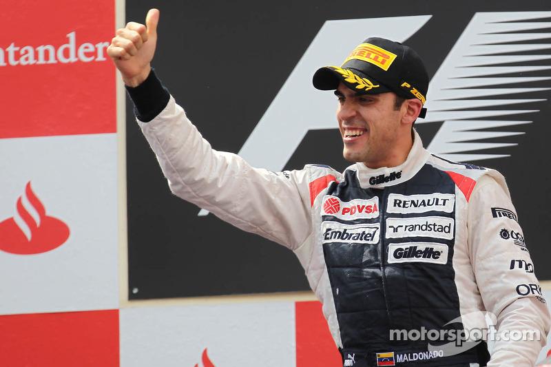 Ganador de la carrreraPastor Maldonado, Williams F1 Team